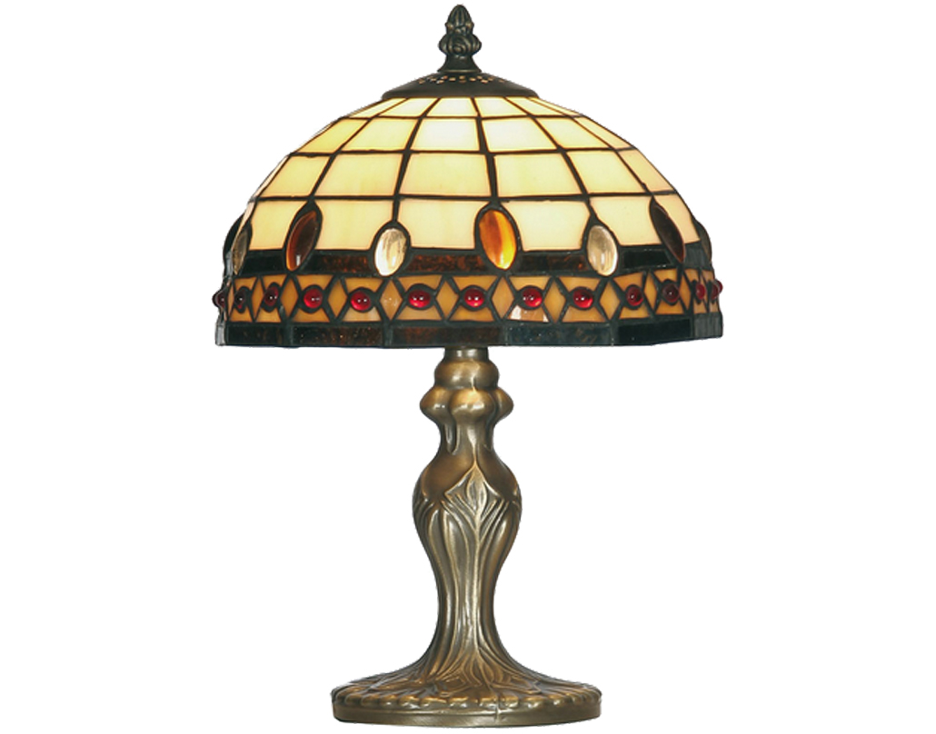 Oaks Lighting Flute Tiffany Table Lamp - OT 1460/8 TL