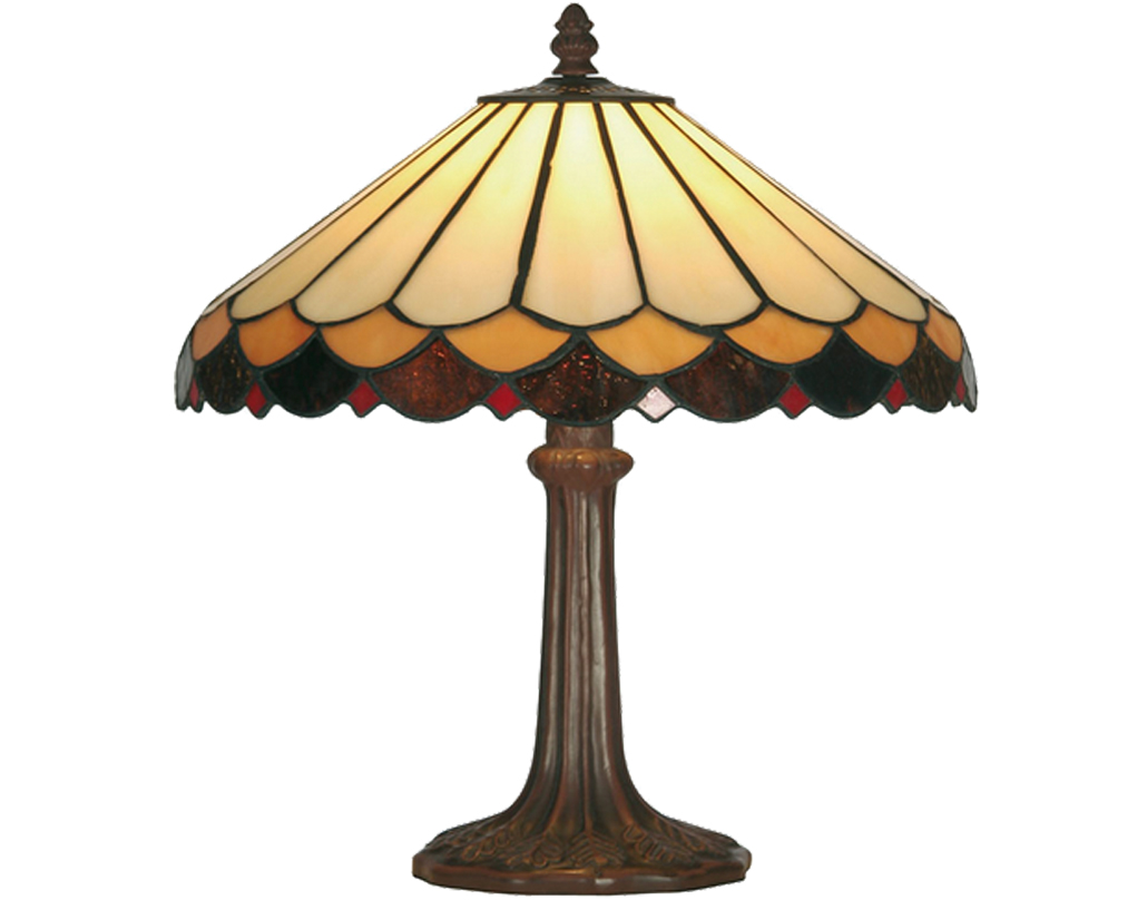 Oaks Lighting Lysander Tiffany Table Lamp - OT 1500/12 TL