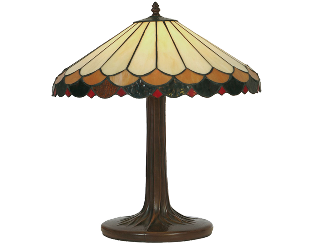 Oaks Lighting Lysander Tiffany Table Lamp - OT 1500/16 TL