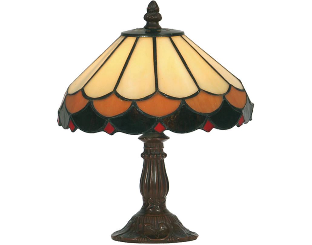 Oaks Lighting Lysander Tiffany Table Lamp - OT 1500/8 TL