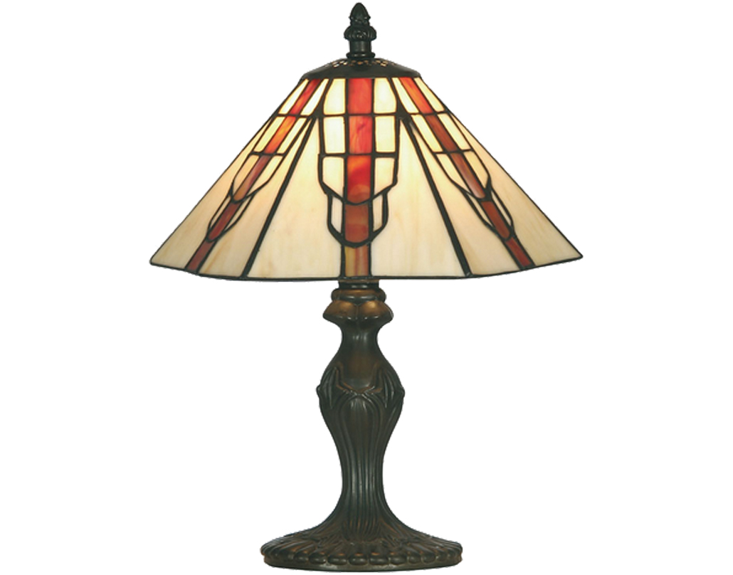 Oaks Lighting Viola Tiffany Table Lamp - OT 1600/10 TL