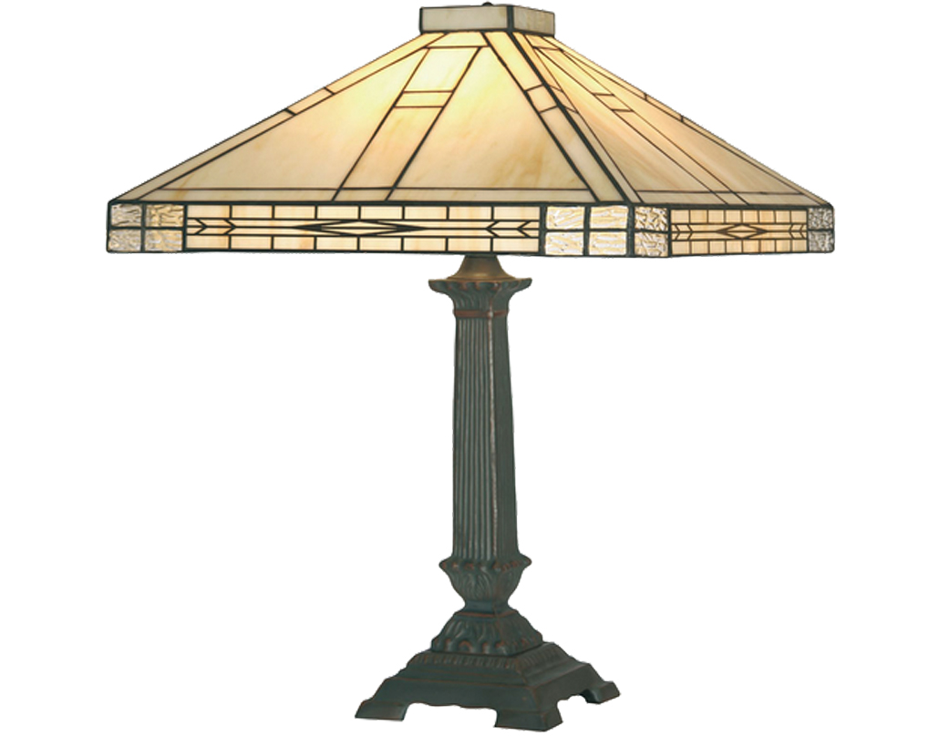 Oaks Lighting Ophelia Tiffany Table Lamp - OT 1849/16 TL