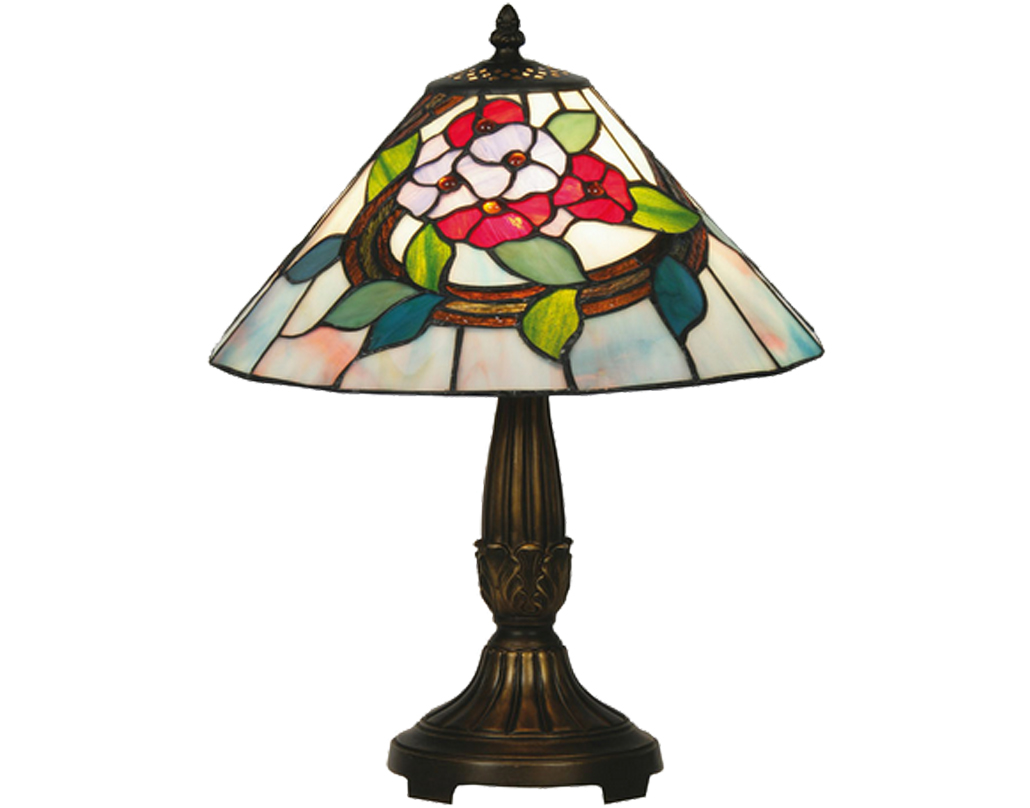 Oaks Lighting Belle Tiffany Table Lamp - OT 2118/12 TL