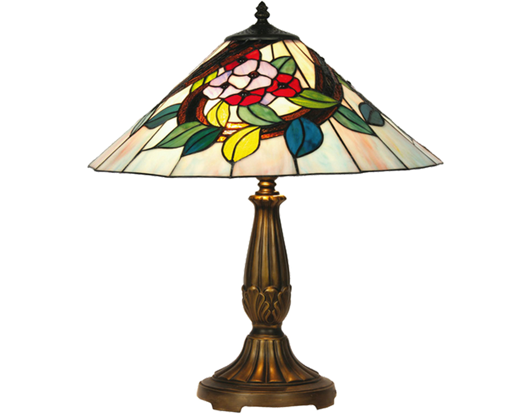 Oaks Lighting Belle Tiffany Table Lamp - OT 2118/16 TL