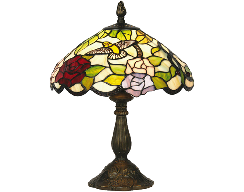 Oaks Lighting Aspen Tiffany Table Lamp - OT 2510/12 TL