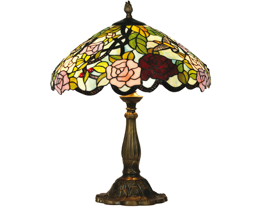 Oaks Lighting Aspen Tiffany Table Lamp - OT 2510/16 TL