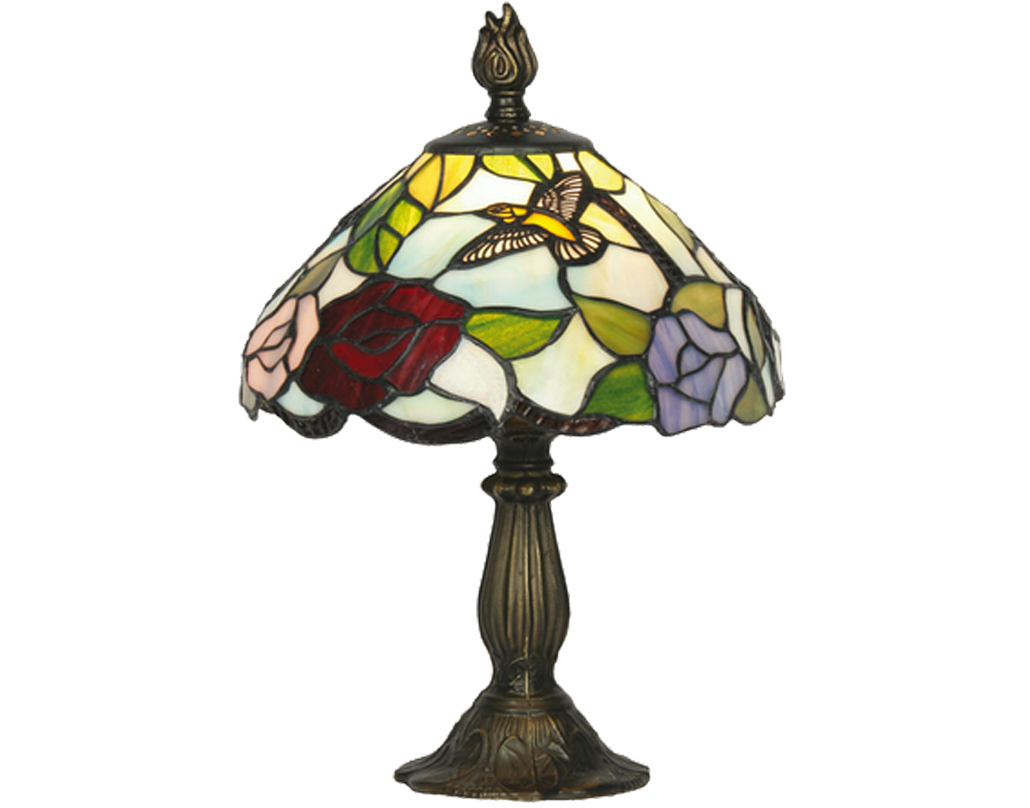 Oaks Lighting Aspen Tiffany Table Lamp - OT 2510/8 TL