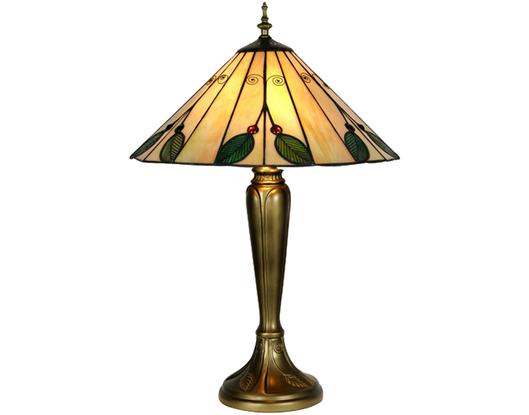 Oaks Lighting Leaf Tiffany Table Lamp - OT 3020/16 TL