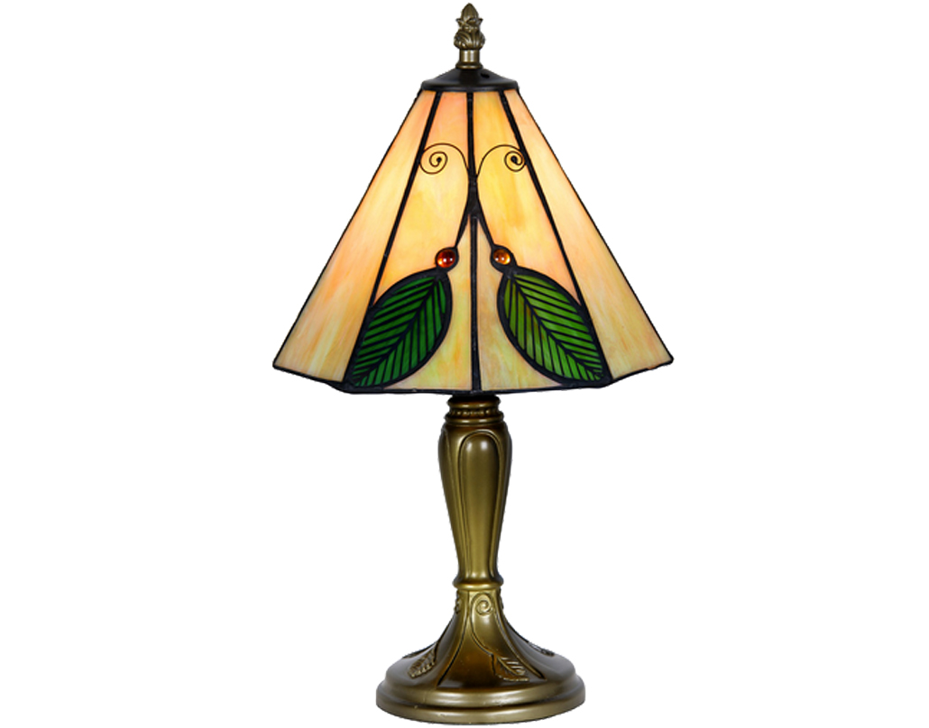 Oaks Lighting Leaf Tiffany Table Lamp - OT 3020/8 TL