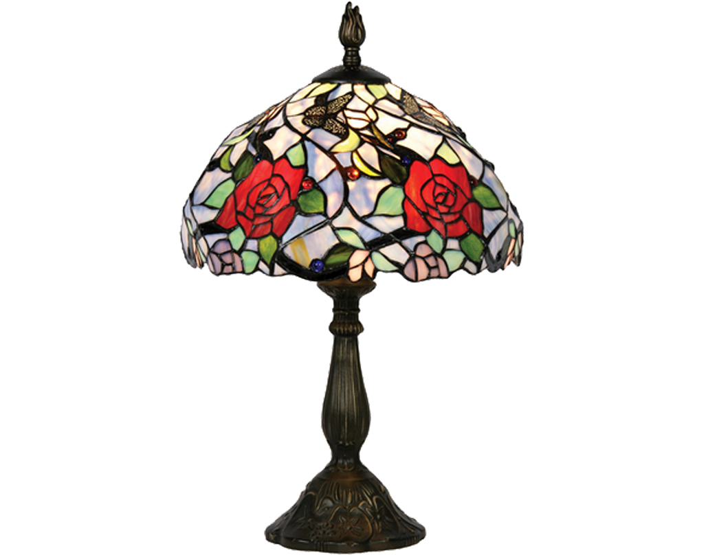 Oaks Lighting Flite Tiffany Table Lamp - OT 3250/12 TL