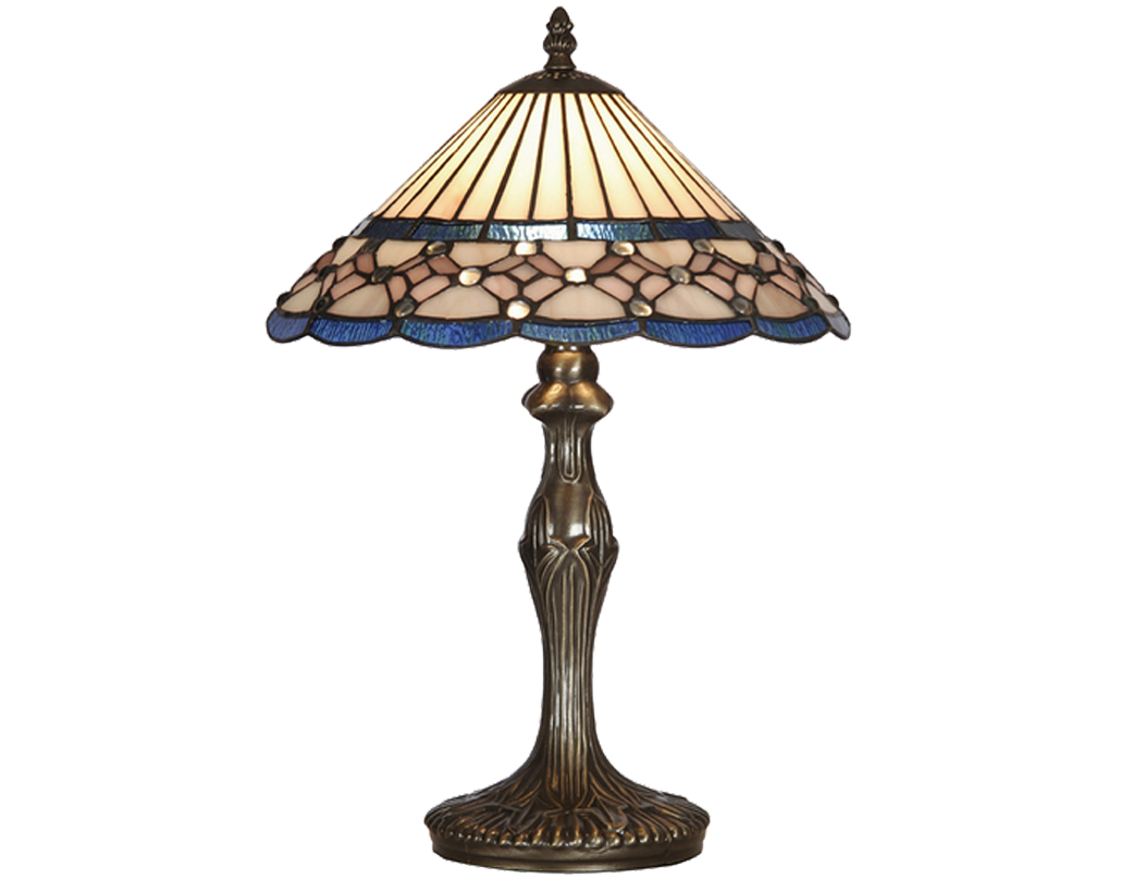 Oaks Lighting Aster Tiffany Table Lamp - OT 4051/12 TL