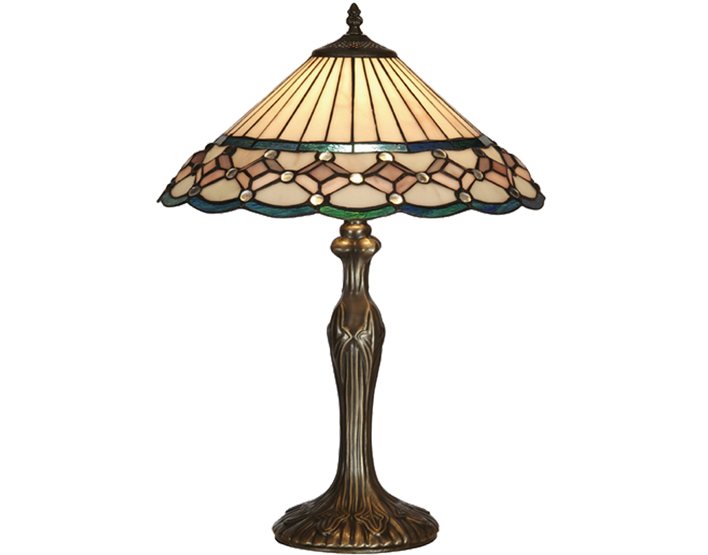 Oaks Lighting Aster Tiffany Table Lamp - OT 4051/16 TL