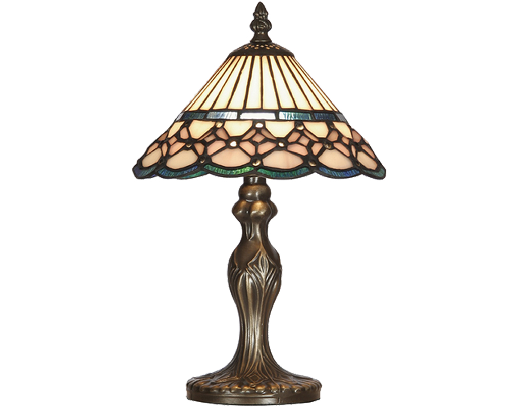 Oaks Lighting Aster Tiffany Table Lamp - OT 4051/8 TL