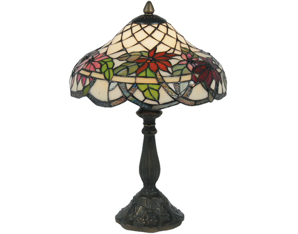 Oaks Lighting Adara Tiffany Table Lamp - OT 4125/12 TL