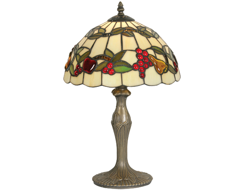 Oaks Lighting Fruits Tiffany Table Lamp - OT 4228/12 TL
