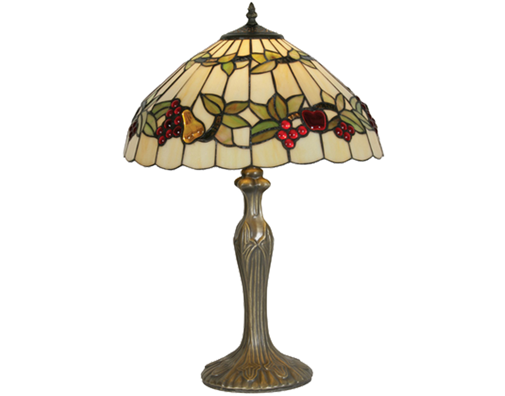 Oaks Lighting Fruits Tiffany Table Lamp - OT 4228/16 TL