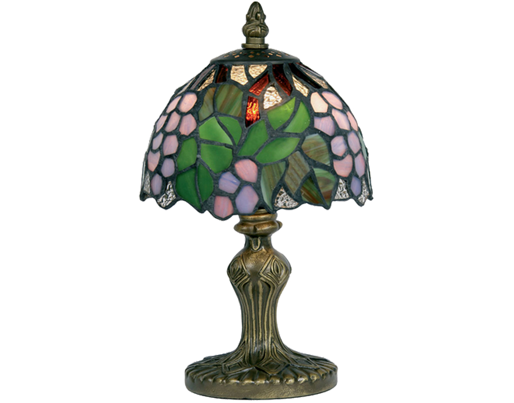 Oaks Lighting Grapes Tiffany Table Lamp - OT 50 GR