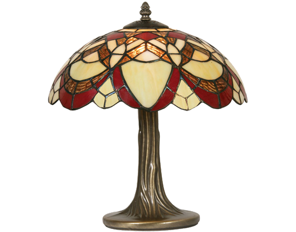Oaks Lighting Caius Tiffany Table Lamp - OT 5234/12 TL