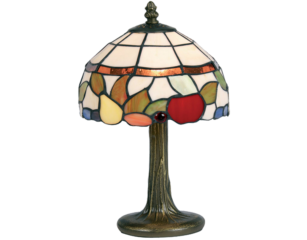Oaks Lighting Fruit Tiffany Table Lamp - OT 60 FR