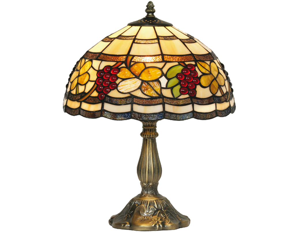 Oaks Lighting Grapes Tiffany Table Lamp - OT 6018/12 TL