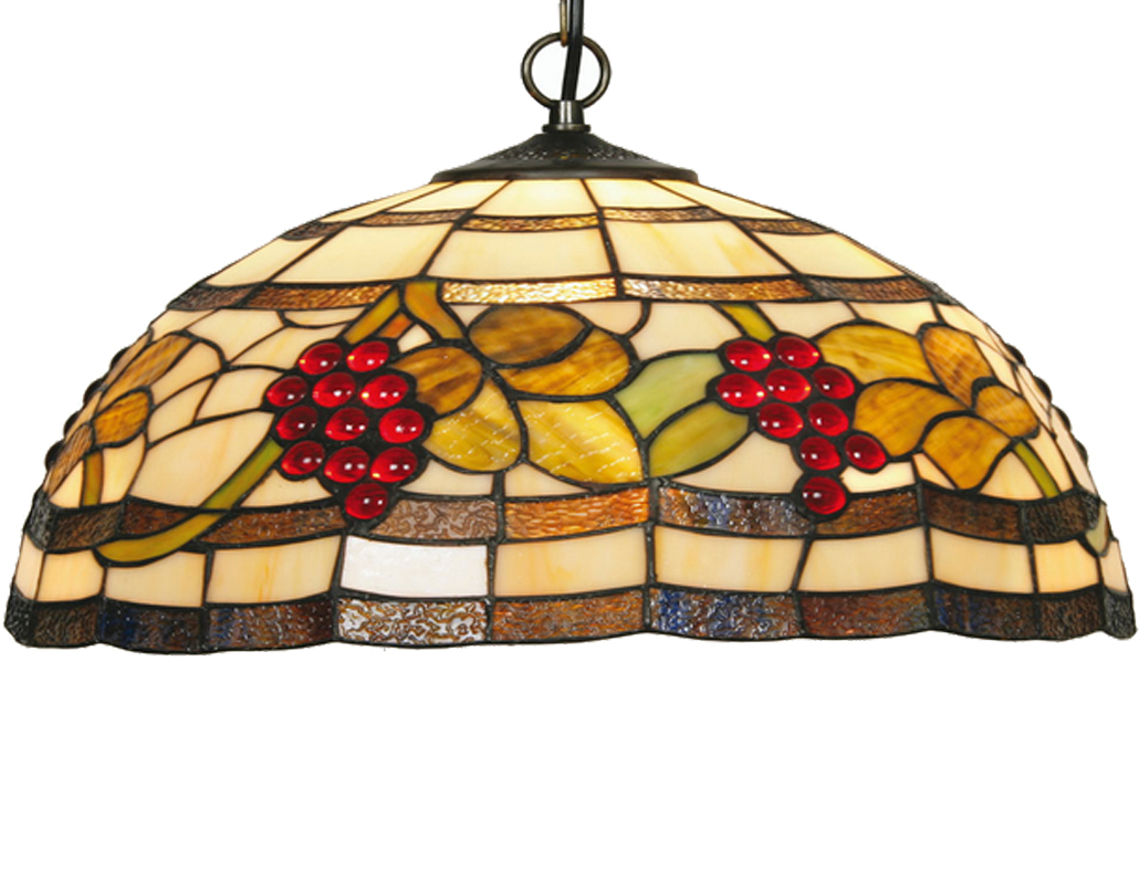 Tiffany ceiling lights from easy lighting oaks lighting grapes tiffany ceiling light ot 601816 p aloadofball Gallery