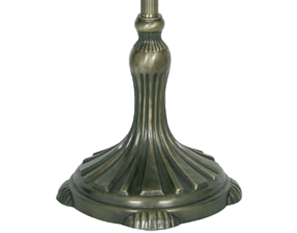 Oaks Lighting Floor Stand Only (Shade Sold Separately), Antique Brass - OT 70 FL