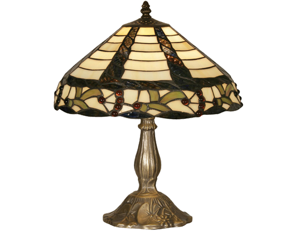 Oaks Lighting Sawyer Tiffany Table Lamp - OT 7020/12 TL