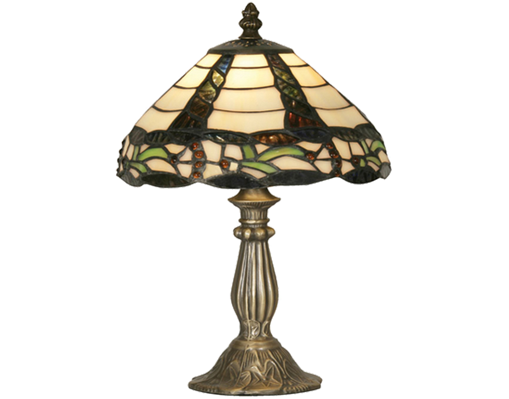 Oaks Lighting Sawyer Tiffany Table Lamp - OT 7020/8 TL