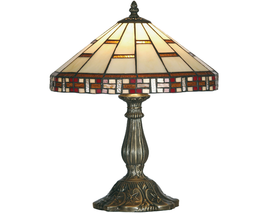 Oaks Lighting Aremisa Tiffany Table Lamp - OT 8130/12 TL
