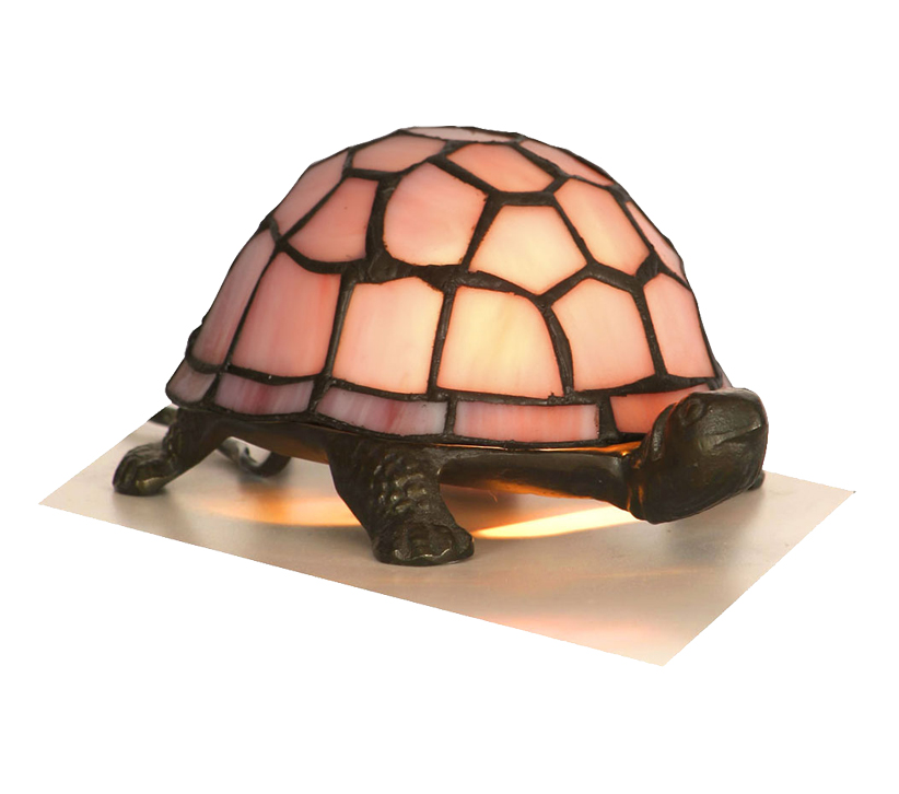 fa671c25b58 Oaks Lighting Tortoise Tiffany Novelty Table Lamp