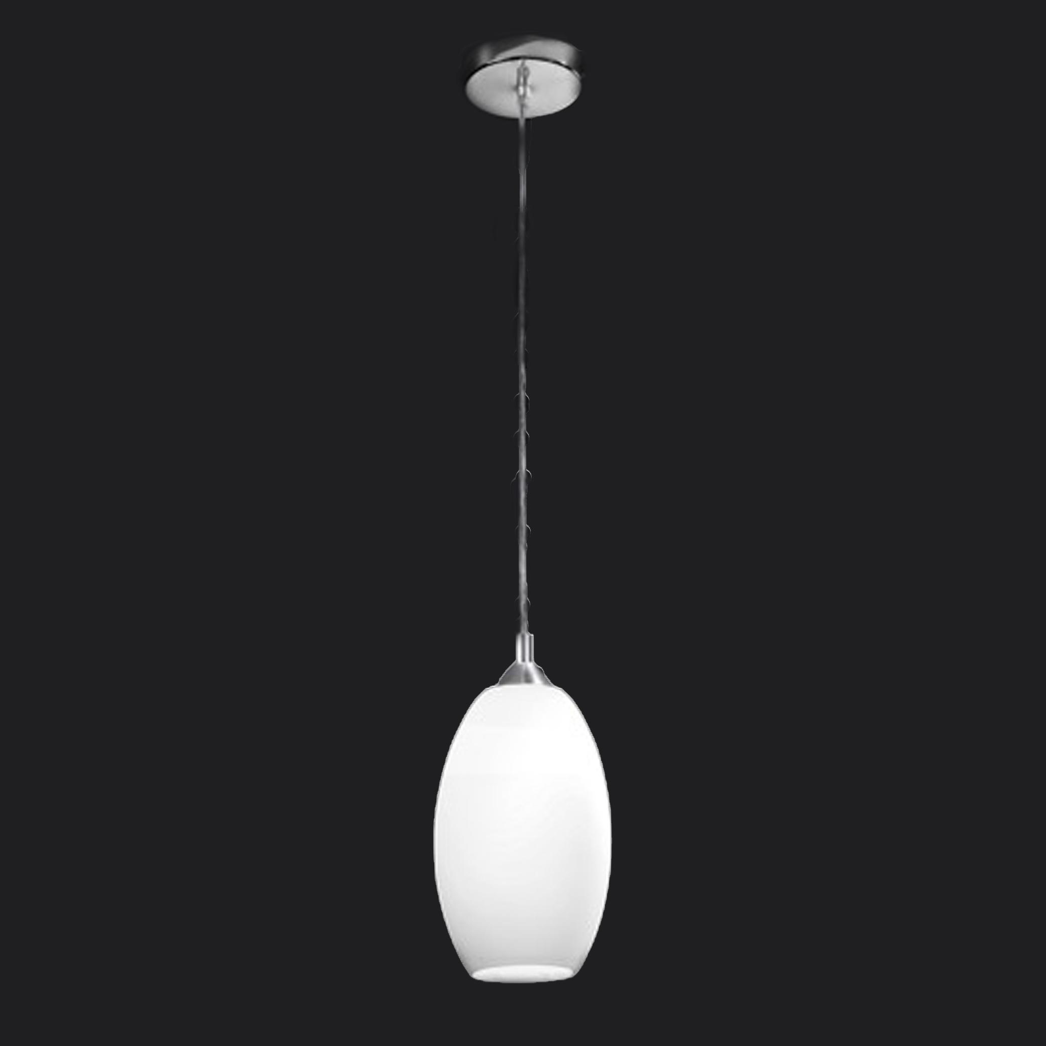 Franklite Modern 1 Light Ceiling Pendant Chrome PCH85 818 From Easy Lighting