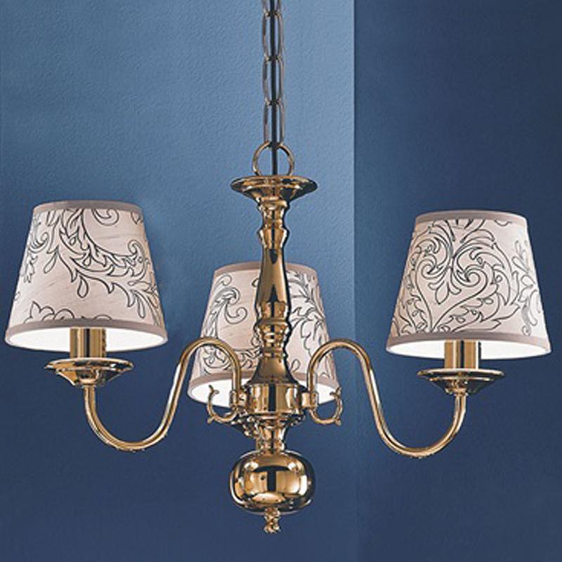 Franklite Delft Polished Brass 5 Light Ceiling Fitting PE7915 From Easy Lig