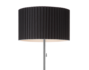 Azzardo Penelopa Floor Lamp, Black Finish - AZ2398