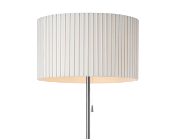 Azzardo Penelopa Floor Lamp, White Finish - AZ2400