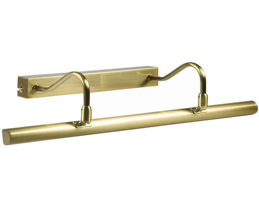 Oaks Lighting 4 Light Picture Light, Satin Brass - PL G9D SB