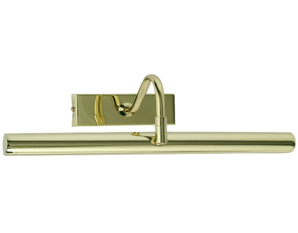 Oaks Lighting LED Picture Light, Polished Brass - PL LED PB