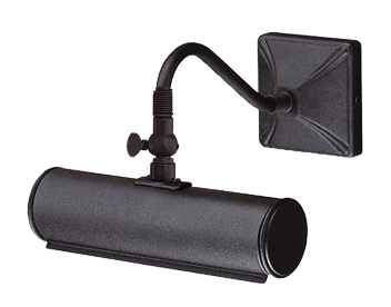 Elstead Black Iron Small Picture Light - PL1/10BLACK