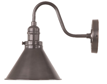 Elstead Provence 1 Light Wall, Old Bronze Finish - PV1OB