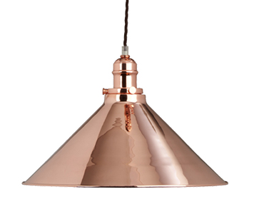 Elstead Provence 1 Light Rise & Fall, Copper Finish - PV/P CPR