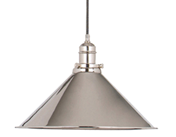Elstead Provence 1 Light Rise & Fall, Polished Nickel - PV/PPN