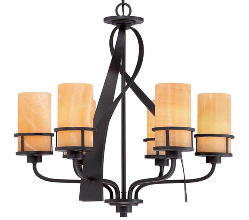elstead quoizel kyle 6 light chandelier imperial bronze qz kyle6