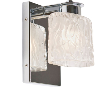 Elstead Quoizel Seaview 1 Light Bathroom Wall Light, Polished Chrome Finish - QZ/SEAVIEW1 BATH