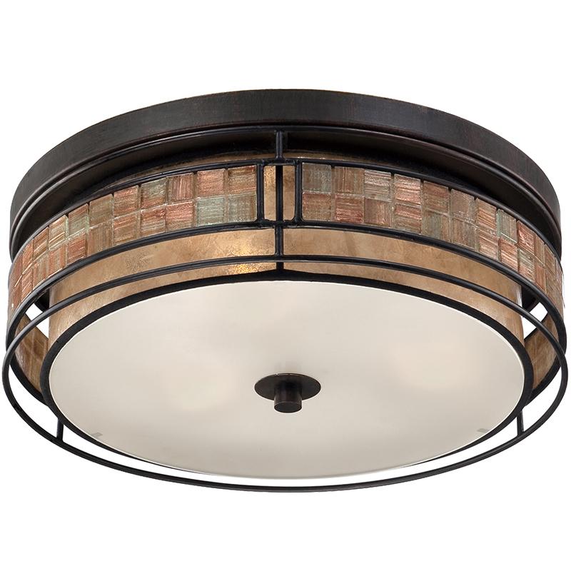 elstead quoizel laguna semi flush ceiling light renaissance copper