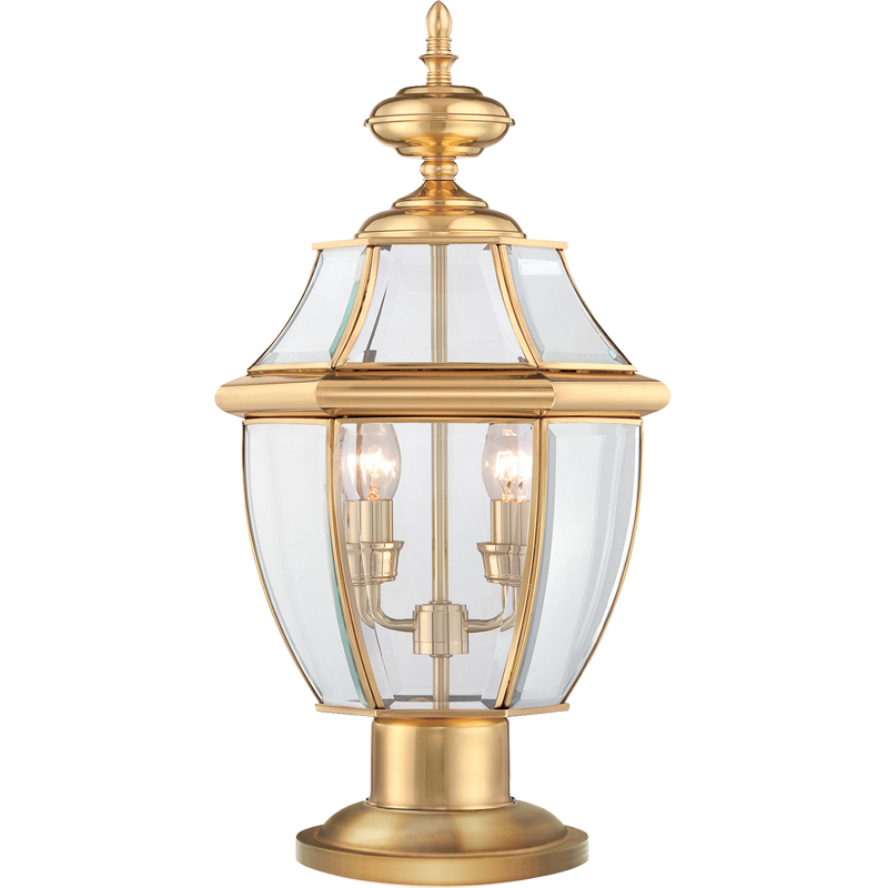 Outdoor Pedestal Lights From Easy Lighting
