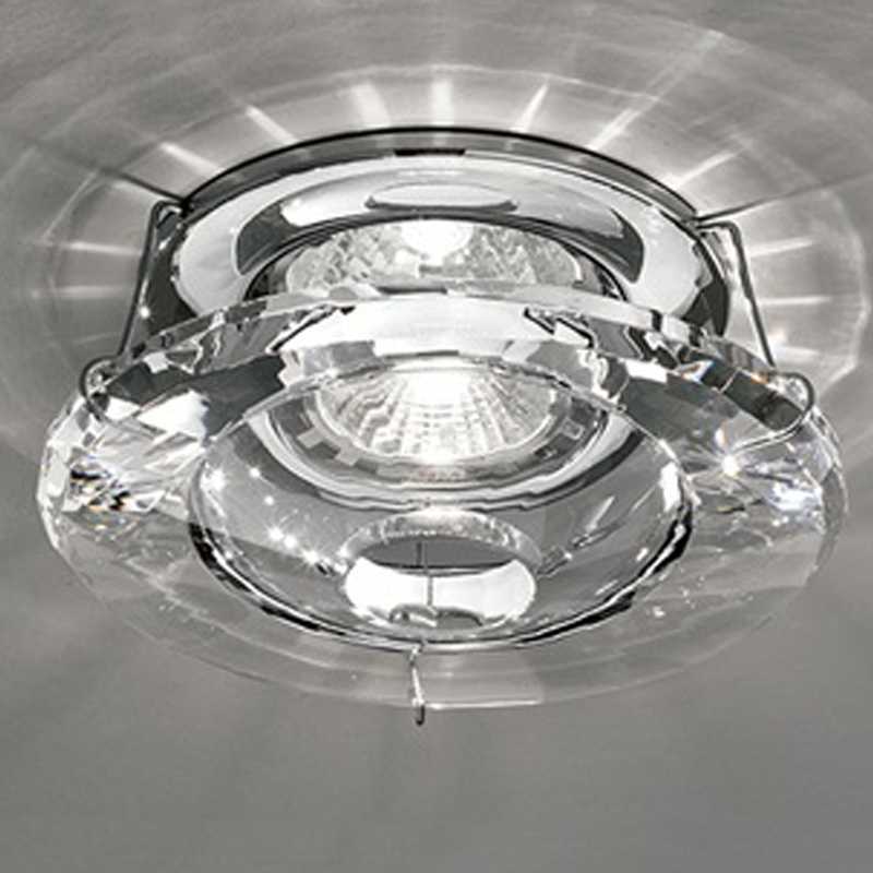 Franklite Crystal & Chrome Low Voltage Downlight - RF244