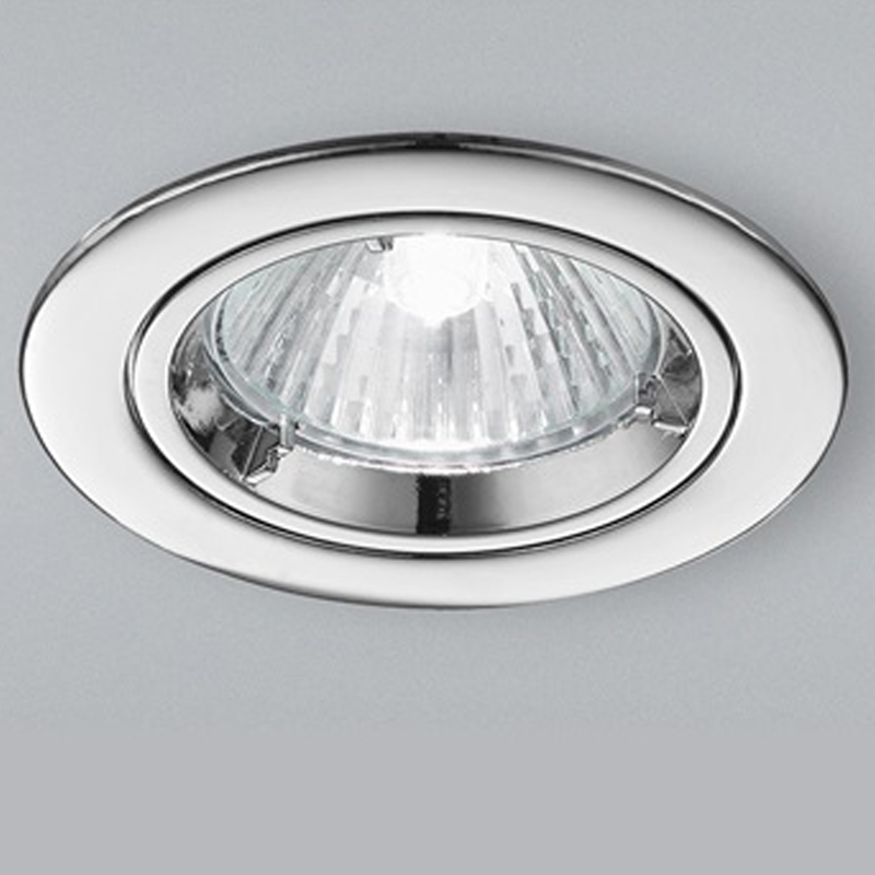Franklite Chrome Fixed Downlight - RF280