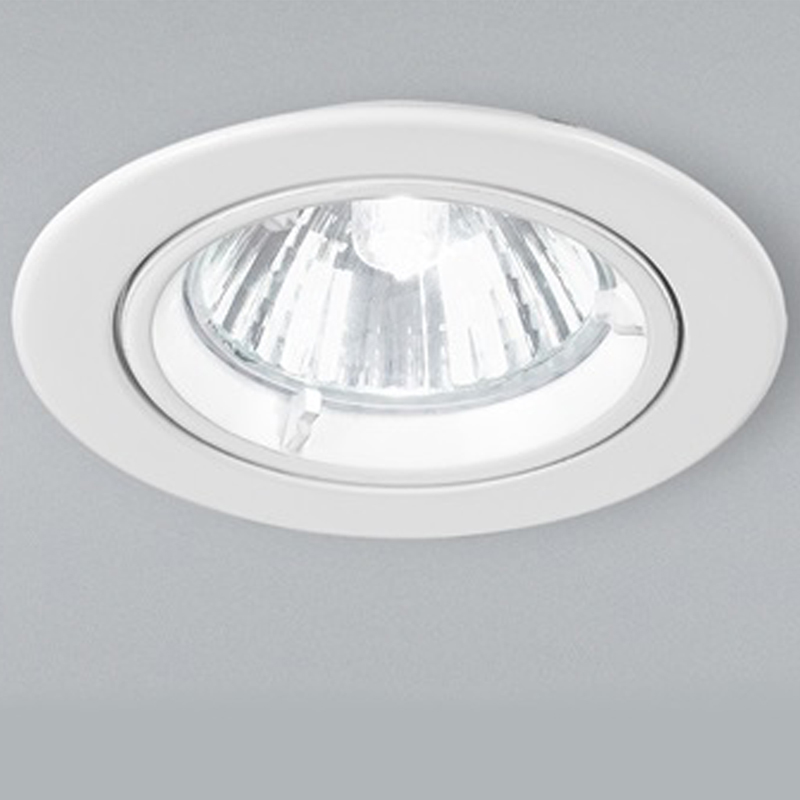Franklite White Fixed Downlight - RF281