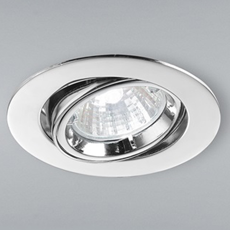 Franklite Chrome 20 Degree Tilt Downlight - RF283