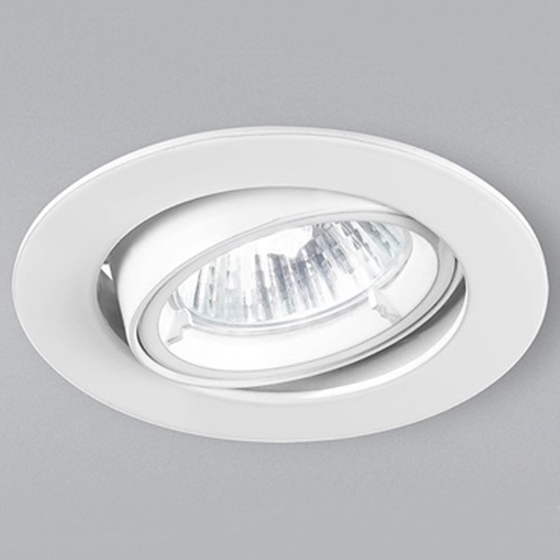 Franklite White 20 Degree Tilt Downlight - RF284