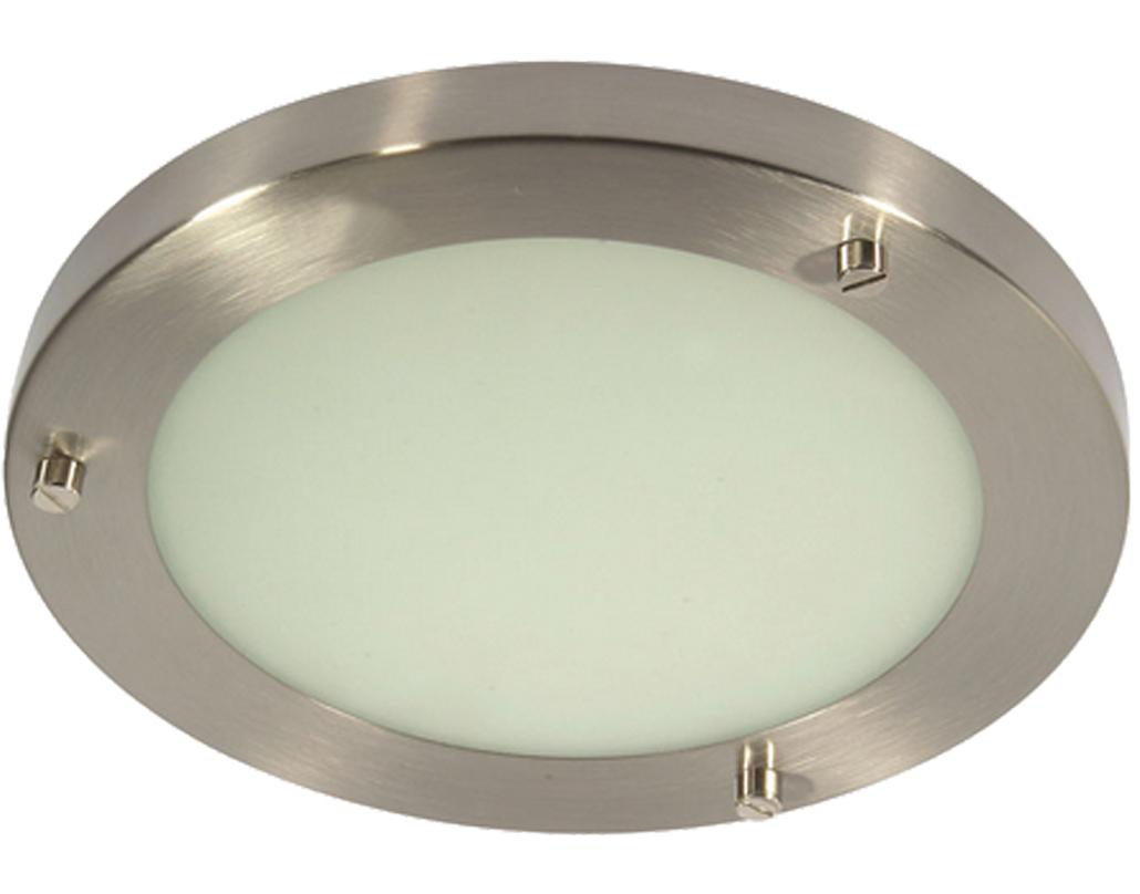 Flush bathroom ceiling lights from easy lighting oaks lighting rondo ip44 flush ceiling light antique chrome rondo ac aloadofball Images